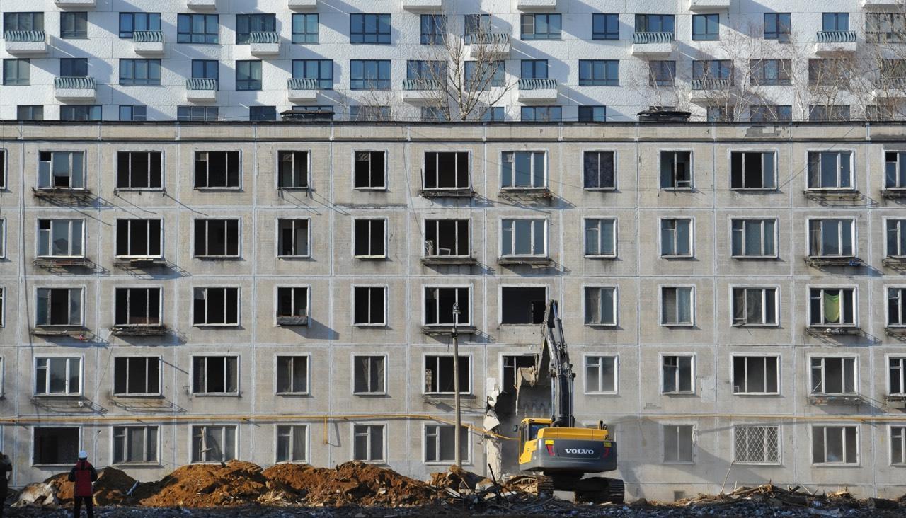 График сноса домов по программе реновации в 2018 году