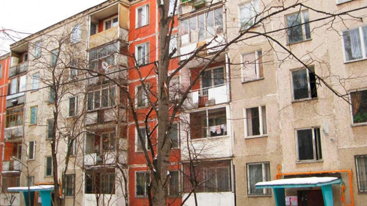 Фотография постройки в первом варианте